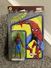 Marvel Legends SPIDER-MAN Retro 3.75? Figure Kenner Hasbro Unpunched 1ST Edition