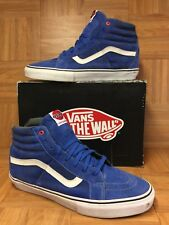 RARE🔥 VANS Sk8-Hi Notchback PRO Christian Hosoi Royal Blue Suede Sz 13 Men's LE