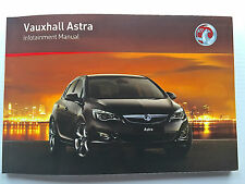 Vauxhall ASTRA J Hatch & Tourer CD 300 400 NAVI 900 600 AUDIO OPERATING MANUAL