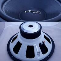 CT Sounds Tropo 18 Inch D2 600 Watt RMS 18 In Dual 2 Ohm Car Subwoofer Audio Sub