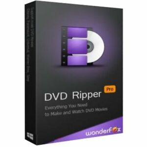 WonderFox DVD Ripper Pro 9 - RIP Copy Protected DVD - Instant Email Delivery