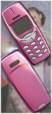 NUOVO!! rosa caldo alloggi / FASCIA / Coperchio / Custodia per Nokia 3310 / 3330