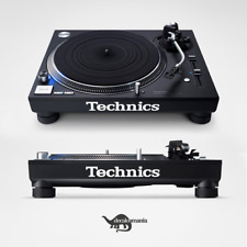 Technics Logo Decal Sticker Set - SL-1200 / SL-1210 / SL-1210GR Turntable