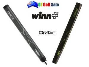 Winn DriTac Dri-Tac Midsize Pistol Golf Putter Grip - Choose from Two Colors