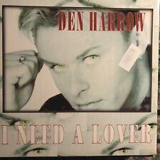DEN HARROW • I Need A Lover • Vinile 12 Mix • 1995 2XPAND