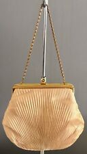 Vintage LIFINIA Gold Fabric Evening Frame Shoulder Bag/Purse