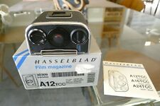 Hasselblad A12TCC Film Back Latest Matching insert Box Exc++ Condition CLA'D