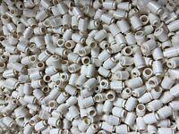 LEGO® 100 Stück Bausteine Basic White Brick, Round 1 x 1 3062b Neuware