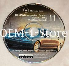 2001 MERCEDES S S430 S500 S600 S55 NAVIGATION MAPNAV  CD EASTERN WESTERN CANADA