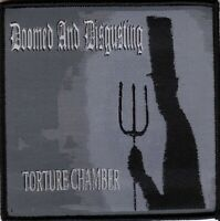 Doomed & Disgusting Torture Chamber Patch Officl Metal Merch Sadistik Exekution