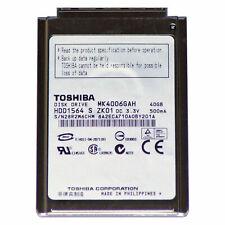 "40gb disco duro 1,8"" pulgadas CF | toshiba mk4006gah | nuevo ipod classic 2 3 4 gen"