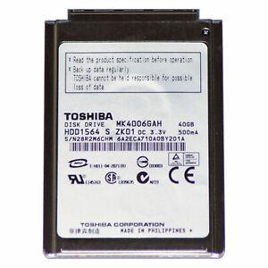 "40GB Festplatte 1,8"" Zoll CF | Toshiba MK4006GAH | Neu iPod Classic 2 3 4 Gen"