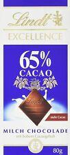 Milchschokolade Lindt Excellence 65% Cacao Milch Schokolade 10x 80g MHD 7/21