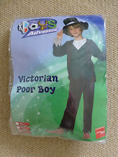 SMIFFY'S BOYS ADVENTURE - VICTORIAN POOR BOY FANCY DRESS  10 - 12 YEARS - NEW