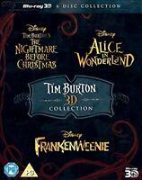 Tim Burton 3D Movie Collection [Blu-ray] [Region Free]