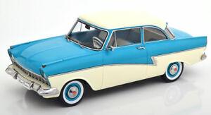 Ford Taunus 17M P2 1957 türkis weiß 1:18 KK-Scale Modellautos