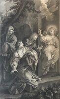 Pietro da Cortona 1596-1669 all Women Au Tombeau per Wicar and Patas 1789 Vellum