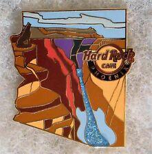 HARD ROCK CAFE PHOENIX GRAND CANYON SKYLINE COLORADO RIVER GUITAR PIN # 96463