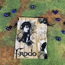 Lord of the Rings The Hobbit Frodo Flannel dice bag, card bag, makeup bag