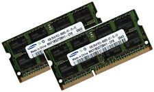 2x 4gb 8gb ddr3 DI RAM MEMORIA IBM Lenovo Thinkpad w510 memoria di marca SAMSUNG