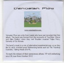 (DN71) Venusian Plow, Hanging in the Playground - 2012 DJ CD