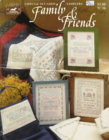 Jean Farish Needleworks 3 Special Occasion FAMILY & FRIENDS SAMPLER No 26