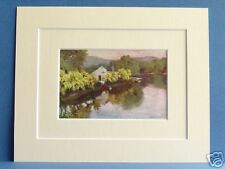 NEWBY BRIDGE WINDERMERE CUMBRIA VINTAGE MOUNTED 1908