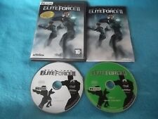 Star Trek Elite Force II 2 Limited Edition PC-CD FPS Shooter Sehr Schnell Post