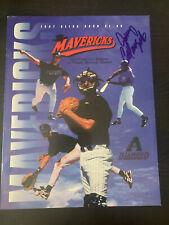 '97 High Desert Mavericks Program Signed By Jerry Colangelo Arizona Diamondbacks