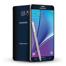 Samsung Galaxy Note 5 32GB Black Telstra B *VGC* + Warranty!!