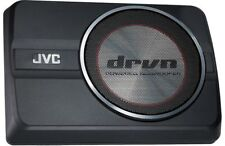 "JVC CW-DRA8 250 Watts 8"" DRVN Series Compact Powered Car Audio Subwoofer System"