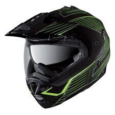 Caberg Tourmax Sonic Motocross MX Crash Helmet With Sunvisor Matt Blk/Yel Small