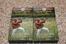 2 Vhs Hunting Videos Hunting In Sights Upland Turkey Texas Big Game Dog Training