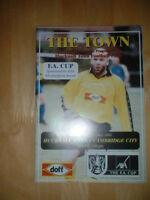 2001/2 HUCKNALL TOWN V CAMBRIDGE CITY - FA CUP