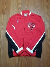 Men's Mitchell & Ness 1992 Authentic Chicago Bulls red Warm Up jacket sz med