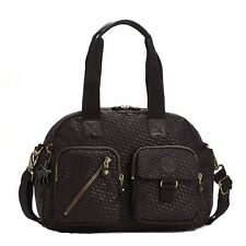 Kipling Defea Crossbody Handbag PLOVER BLACK NWT