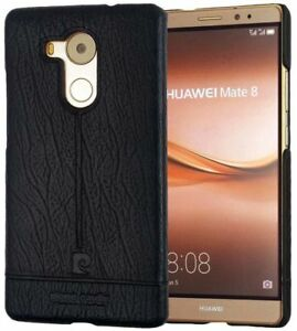 Huawei Mate 8 Genuine Pierre Cardin Leather Hard Back Case