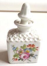 Flacon à parfum en porcelaine 19e siècle