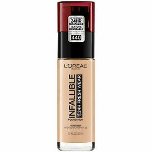 L'Oreal Paris Makeup Infallible Up to 24 Hour Fresh Wear Foundation