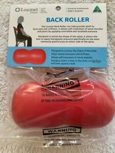 Loumet Fitness Back roller tension release massage AUSTRALIAN MADE
