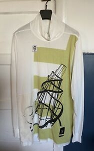 BNWOT Rick Owens DRKSHDW 'Are Friends Electric' Print/Patch Top S RRP £220.00