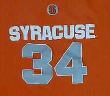 Syracuse Orange Basketball Vintage Style Shirt #34 Nichols, McNeil, Sidibe