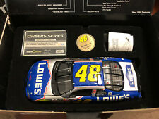 2002 Jimmie Johnson Lowes Bank Team Caliber Owners Series car