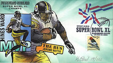 BEVIL H&M HP STEELERS SUPERBOWL XL JEROME BETTIS HINES WARD VERS A  Sc U649 3032