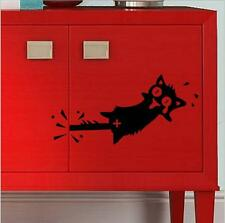 New Creative Cat Car Switch Decal Wall Stickers Home Wall Decals Switch decorate