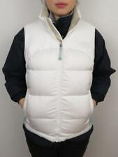 The North Face White 700 Down Nuptse Vest Womens Small Jacket Puffer Ski Winter