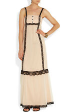 Alice By Temperley Chloe Tulle And Satin Maxi Dress Size 10 ,    ,..#1