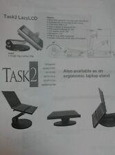 LCD monitor arm or laptop desktop