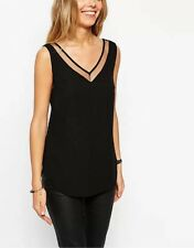 Unbranded V Neck Fitted Striped Tops & Shirts for Women