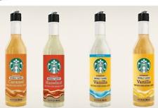 Starbucks Caramel, Hazelnut, Sugar-Free Vanilla, Vanilla Flavored Syrup 12 fl oz